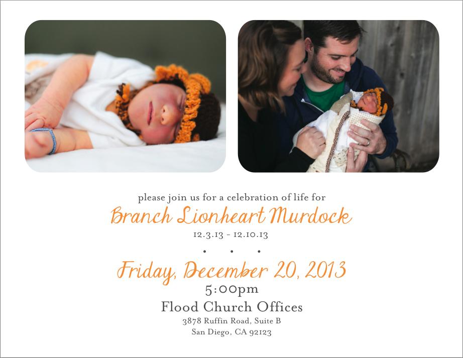 Branch Announcement